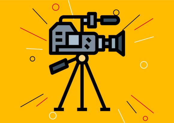 Video Camera Graphic Illustrations By Cintakucluk123