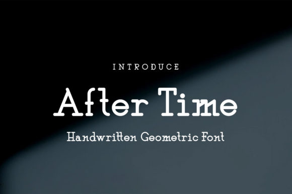 Print on Demand: After Time Display Font By Nico Muslib