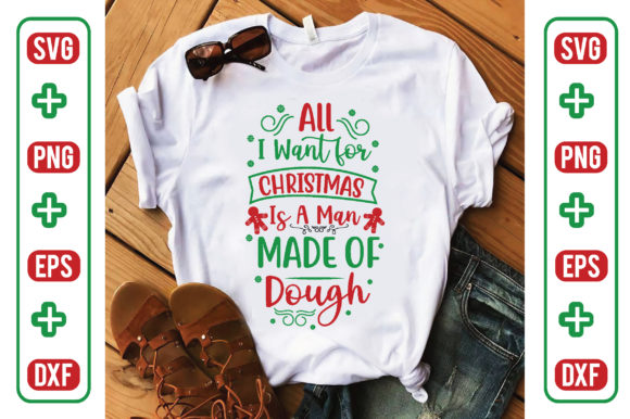 All I Want for Christmas is a Man-Made O Graphic Crafts By Printable Store