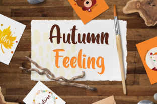 Autumn Feeling Graphic Crafts By Firefly Designs 1