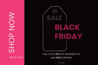 Black Friday Design Banner Graphic Graphic Templates By Extumus