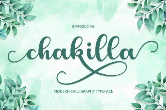 Print on Demand: Chakilla Script & Handwritten Font By Cut Story