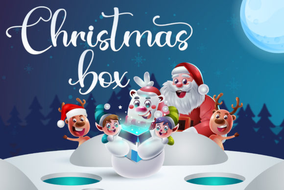 Christmas Bear Font Preview