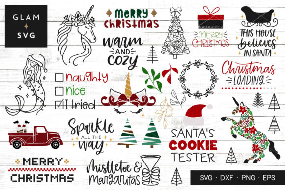 Christmas Bundle Graphic Crafts By Glam SVG