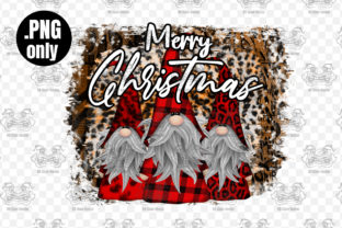 Print on Demand: Gnome Merry Christmas Sublimation Graphic Crafts By CraftsCreateShop