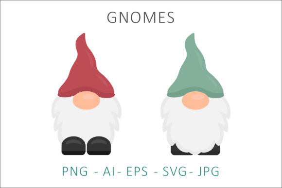Print on Demand: Gnome Vector Illustration Graphic Illustrations By AS Digitale