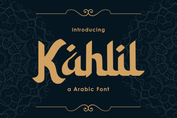 Print on Demand: Kahlil Display Font By TypeFactory