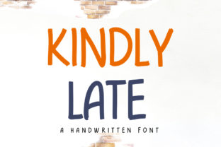 Print on Demand: Kindly Late Script & Handwritten Font By hugefonts