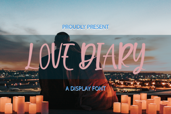 Print on Demand: Love Diary Script & Handwritten Font By merge354