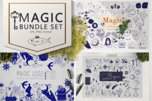 Magic Bundle Set Black Friday Graphic Illustrations By By Anna Sokol