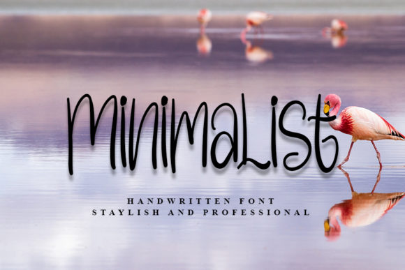 Print on Demand: Minimalist Script & Handwritten Font By Inermedia STUDIO