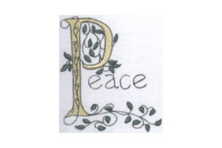 Peace Outdoor Quotes Embroidery Design By Sew Terific Designs