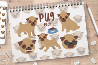 Pug Life Illustrations Graphic Crafts By Firefly Designs