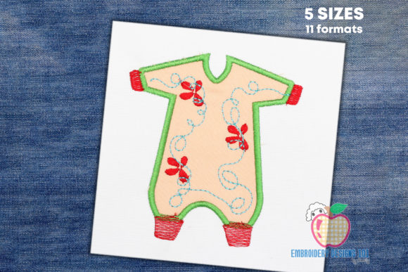 Sleeping Bag for the Baby Clothing Embroidery Design By embroiderydesigns101