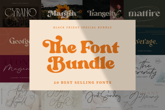 Print on Demand: The Font Bundle  von dharmas