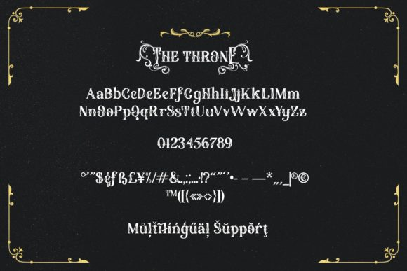 The Throne Font Font