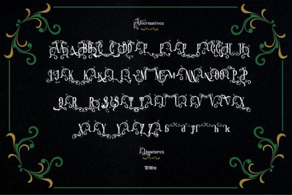 The Throne Font Design
