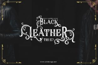 Print on Demand: The Throne Blackletter Font By Alit Design 7