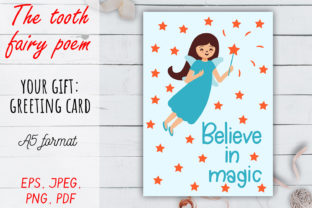 The Tooth Fairy Poem SVG Set. Graphic Crafts By OK-Design 5