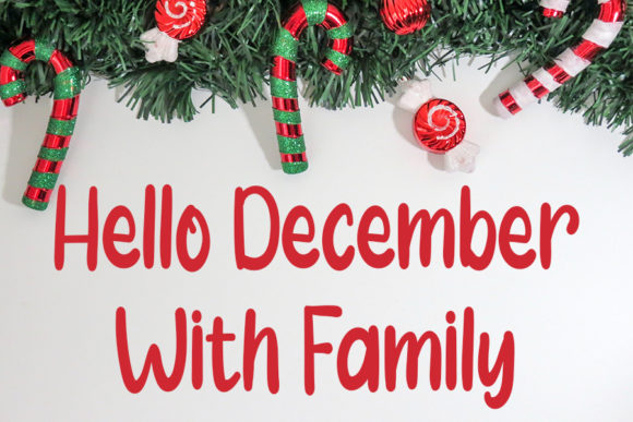 Welcome Christmas Font Download