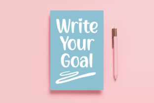 Print on Demand: Write Your Goal Script & Handwritten Font By Jasm (7NTypes)
