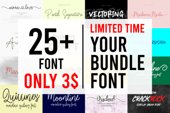 Print on Demand: Your Fonts Collection  von harisprawoto