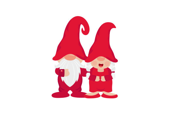 Gnome Couple Cut File