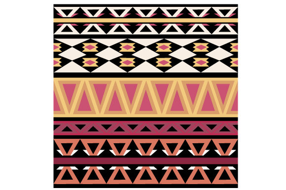 Aztec Pattern Designs & Drawings Craft Cut File By Creative Fabrica Crafts