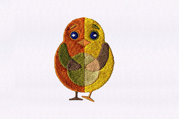 Baby Chick Birds Embroidery Design By DigitEMB