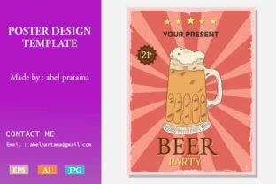 Beer Party Poster Graphic Print Templates By abelpratama
