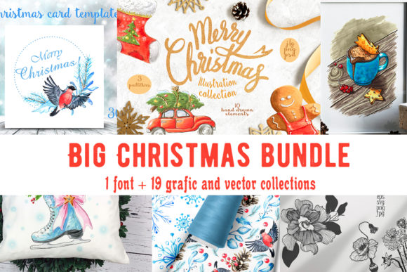 Big Christmas Bundle  von ksenia.shuneiko