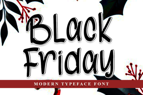 Print on Demand: Black Friday Script & Handwritten Font By NYA Letter