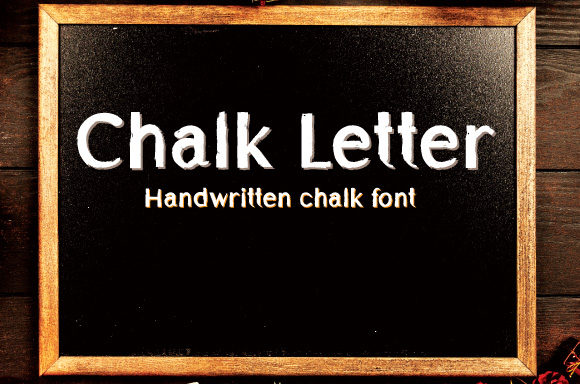 Print on Demand: Chalk Letter Display Font By Dedi Art  Studio