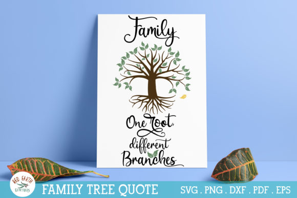 Family Tree Root Graphic Crafts By redearth and gumtrees
