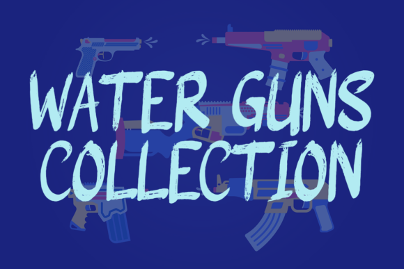Guns Rock Font Item