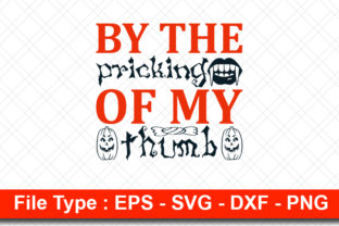 Print on Demand: Halloweeen  Svg Design, by the Pricking Graphic Print Templates By svg_hut