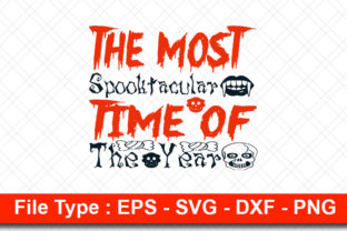 Print on Demand: Halloweeen  Svg Design, the Most Graphic Print Templates By svg_hut