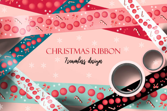 Holiday Packing Tapes and Ribbons Png. J Graphic Patterns By AnNetArt