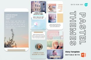 Instagram Story - Pastel Themes Graphic Presentation Templates By 57creative