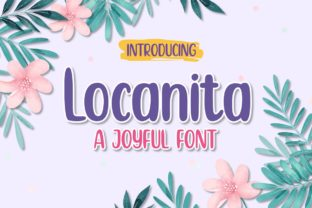 Print on Demand: Locanita Display Font By efosstudio