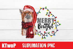 Print on Demand: Merry and Bright, Merry Christmas Graphic Illustrations By KtwoP