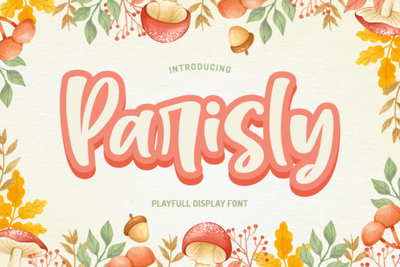 Print on Demand: Parisly Manuscrita Fuente Por Typefar