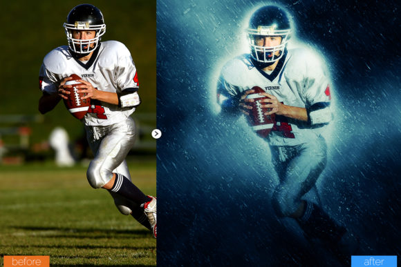 Print on Demand: Raindrop Photoshop Action Graphic Actions & Presets By MS-Creation