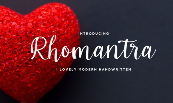 Print on Demand: Rhomantra Script & Handwritten Font By Brilian Studio