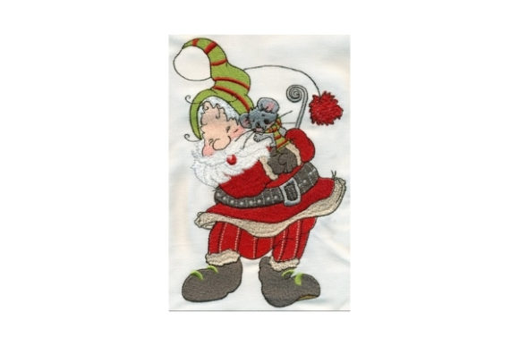 Sassy Lovin on Santa Christmas Embroidery Design By Sew Terific Designs