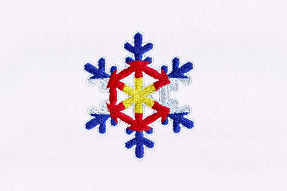 Snowflake Winter Embroidery Design By DigitEMB