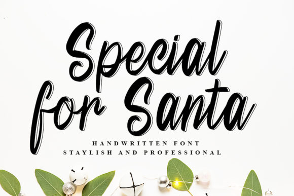 Print on Demand: Special for Santa Script & Handwritten Font By Inermedia STUDIO