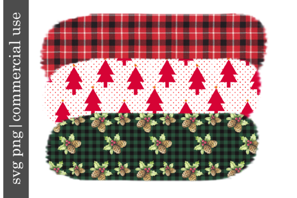 Print on Demand: Sublimation Christmas Set Graphic Print Templates By inlovewithkats