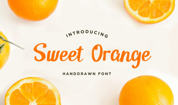 Print on Demand: Sweet Orange Script & Handwritten Font By Brilian Studio