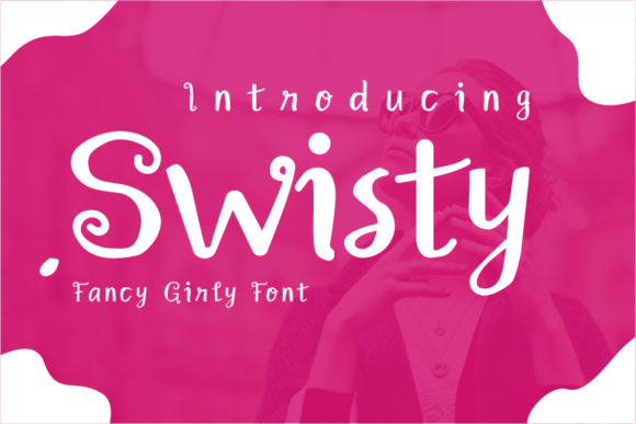 Print on Demand: Swisty Script & Handwritten Font By Graphic Engineer